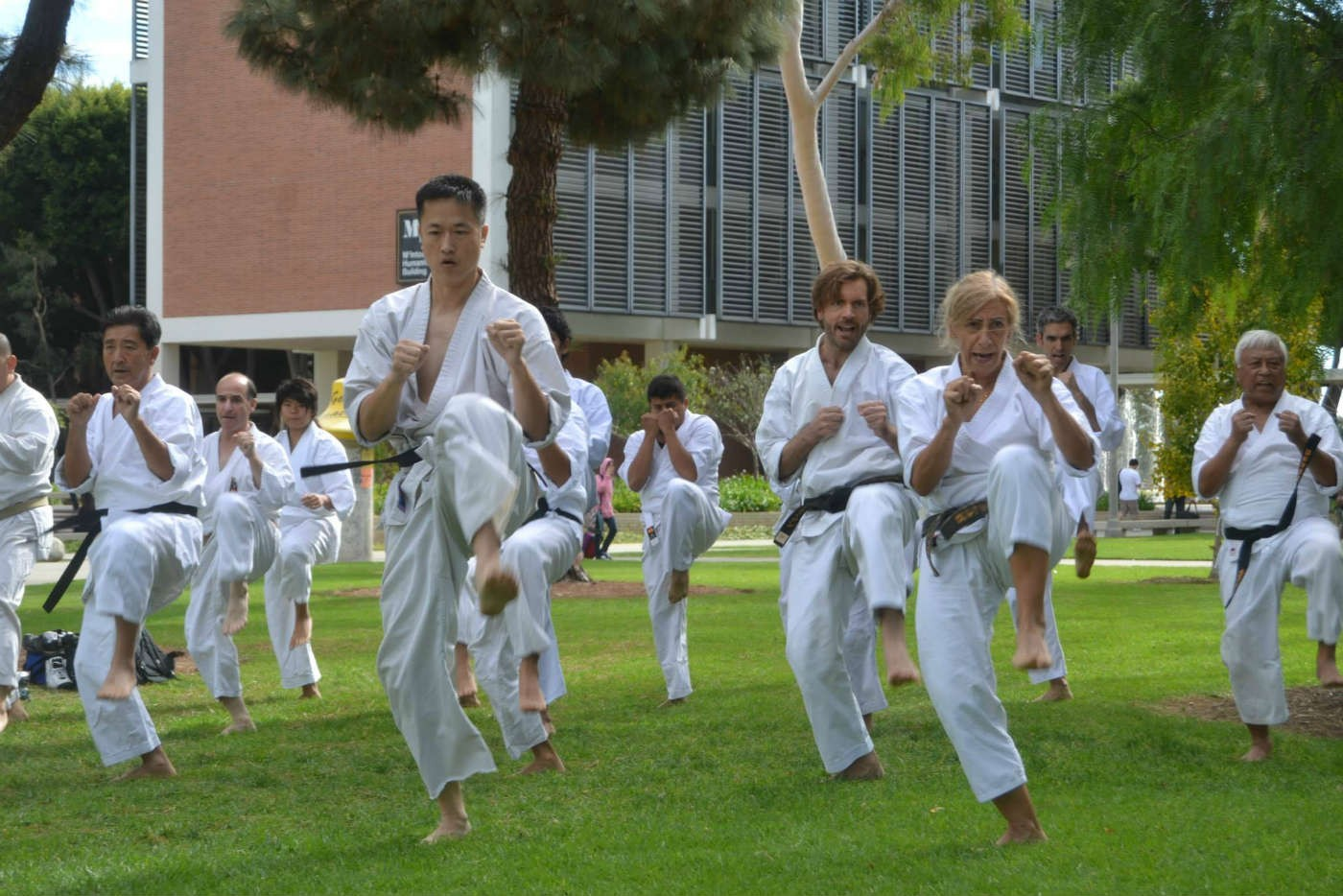 CSULB Shotokan Karate Club 2014 karate demonstration