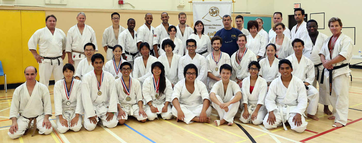 csulb shotokan karate club group photo 2014 banner
